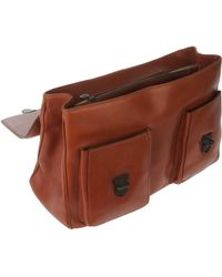 Timberland - Flap-Front Leather Briefcase - Lyst