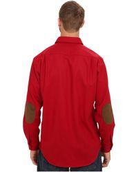 Pendleton | L/S Trail Shirt W/ Elbow Patch (Tall) | Lyst