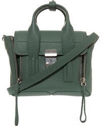 3.1 Phillip Lim Pashli Mini Satchel Bag green - Lyst