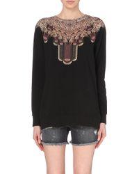 Marcelo Burlon La Paz Cotton-Jersey Sweatshirt - For Women - Lyst