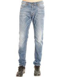 Diesel Jeans Belther Denim Used Regular Slim blue - Lyst