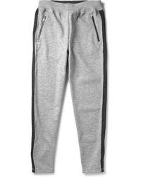 Todd Snyder Grosgrain-trimmed Sweatpants - Lyst