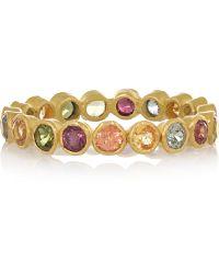 Munnu - 22-Karat Gold Tourmaline Ring - Lyst
