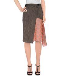 Dries Van Noten   Knee Length Skirt   Lyst