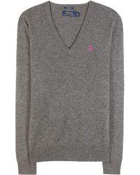 Ralph Lauren Cashmere Sweater - Lyst