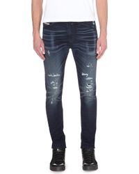 Diesel Spender-Ne Slim-Skinny Mid-Rise Jeans - For Men - Lyst