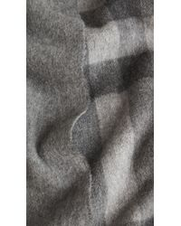 Burberry Merino Wool Cashmere Stole - Lyst