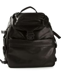 Alexander McQueen Snakeskin Effect Backpack - Lyst