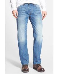 Diesel 'Larkee' Straight Leg Jeans blue - Lyst