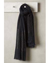 Anthropologie Shimmered Cashmere Wrap - Lyst