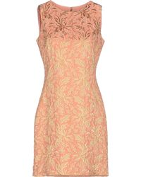 Dolce & Gabbana Short Dress pink - Lyst