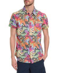 Vans Hampton Floral Short-Sleeved Shirt - Lyst