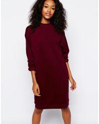 Monki Sweat Dress - Lyst