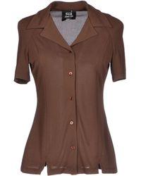 Anna Sui Shirt brown - Lyst