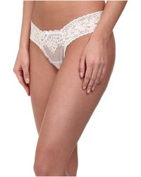 Hanky Panky Dauphine Low Rise Thong - Lyst