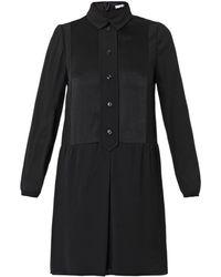 Carven Buttonfront Shirtdress - Lyst