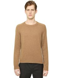 Valentino Camel Wool Sweater - Lyst