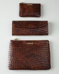 Graphic Image - Croc-shell Zip Pouch - Lyst