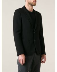 Giorgio Armani Black Classic Jacket - Lyst