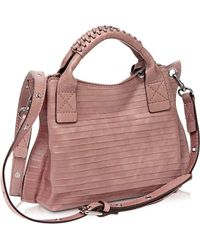 Francesco Biasia - Gardenia Leather Handbag W/shoulder Strap - Lyst