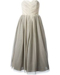 Alice + Olivia Kelly Princess Gown - Lyst