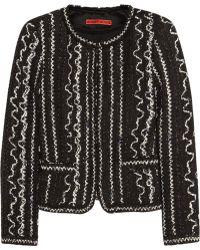 Alice + Olivia Kidman Woven Cotton-blend Jacket - Lyst