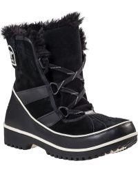 Sorel Tivoli Ii Snow Boot Black Suede black - Lyst