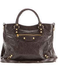 Balenciaga Giant 12 Velo Leather Tote - Lyst