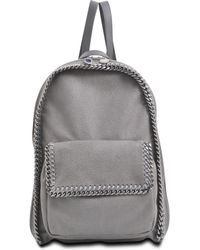 Stella McCartney Falabella Zipped Shaggy Deer Backpack - Lyst