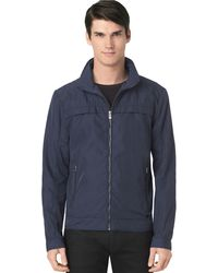Calvin Klein Classic Fit Twill Hooded Jacket - Lyst