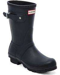 Hunter Original Short Rain Boot - Lyst