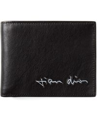 Dior Homme Signature Print Wallet - Lyst