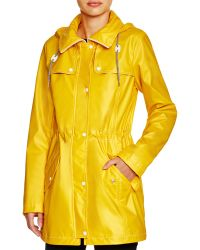 Jessica Simpson - Hooded Rain Slicker - Compare At $160 - Lyst