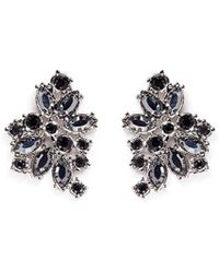 St. John - 'night Bloom' Crystal Laurel Earrings - Lyst