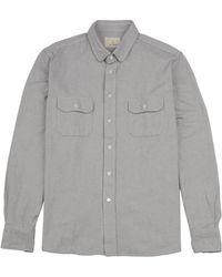 La Paz Pachecho Long Sleeve Oxford gray - Lyst