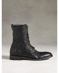 John Varvatos Fleetwood Corded Lace Boot - Lyst