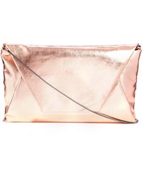 Coast - Metallic Clutch Bag - Lyst