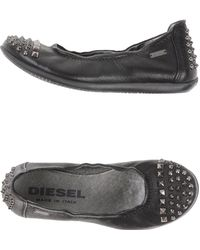 Diesel Ballet Flats - Lyst