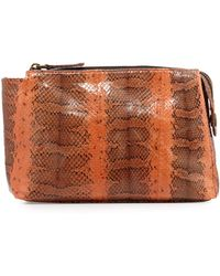 Beirn - Large Watersnake Cosmetics Pouch - Lyst