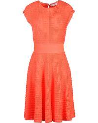 Dior Knee-Length Dress pink - Lyst