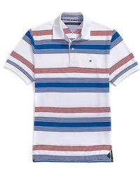 Tommy Hilfiger Classic Fit Stripe Golf Polo - Lyst