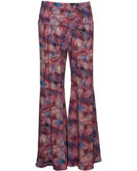 ViX | Palm Springs Ruffle Pants | Lyst