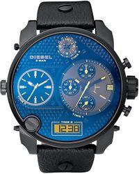 Diesel Round Chronograph Watch - Lyst