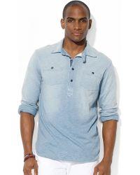 Polo Ralph Lauren Longsleeved Jersey Pullover Workshirt - Lyst