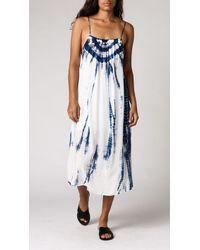 Azalea Kenitra Tie-Dye Dress white - Lyst