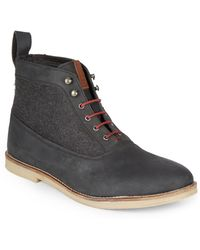 Ben Sherman Troy Lace-up Boots - Lyst