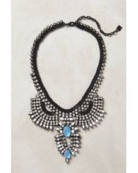 Dannijo Blue Moschata Necklace - Lyst