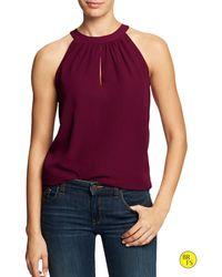 Banana Republic Factory Popover Top - Lyst