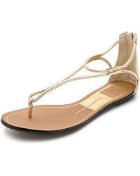 Dolce Vita - Marnie Sandals - Gold - Lyst