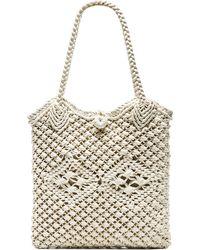 Ále By Alessandra - Vela Crochet Bag - Lyst